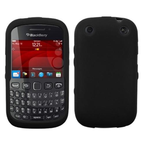 INSTEN Solid Skin Case (Black) For BLACKBERRY 9310 Curve