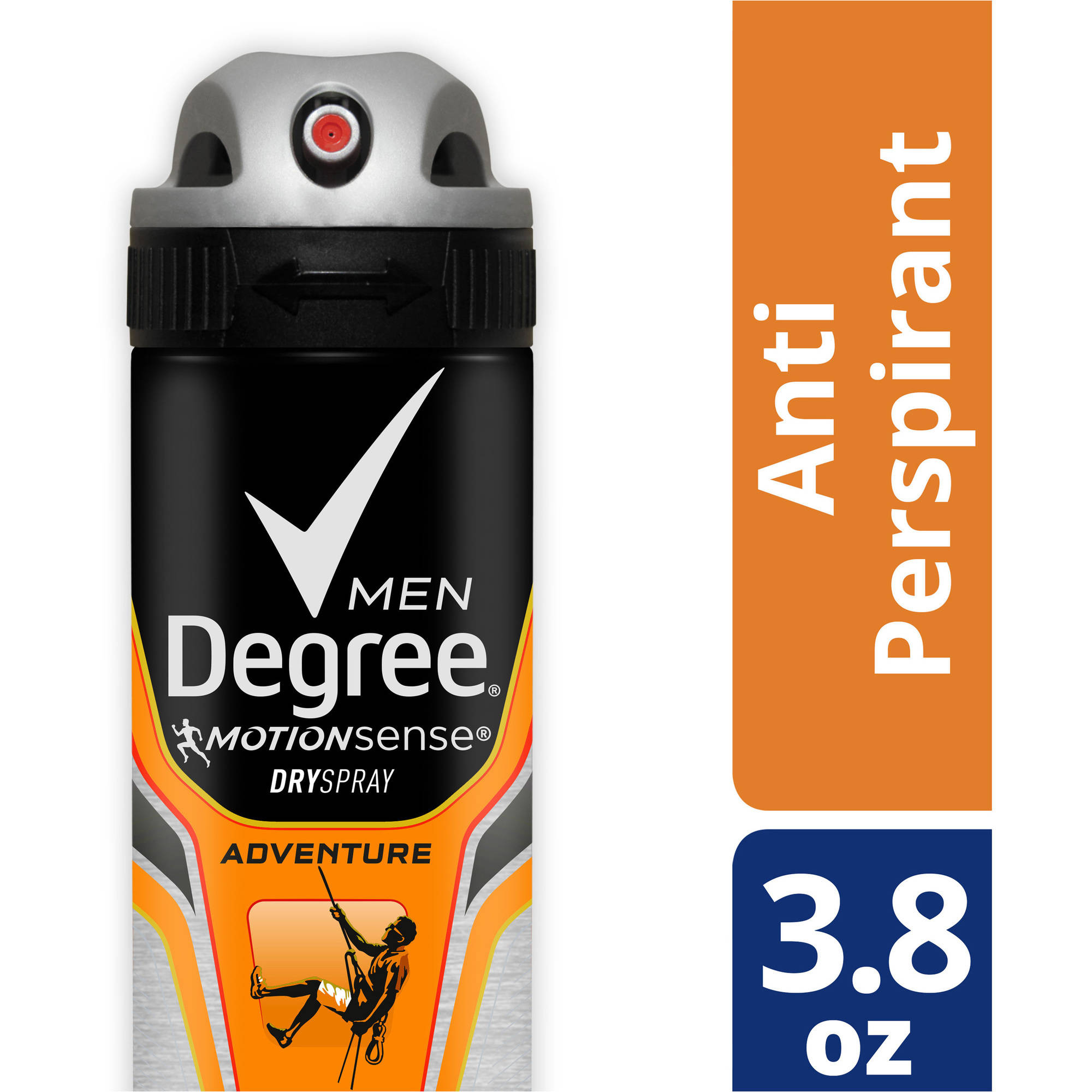 Degree Men MotionSense Adventure Antiperspirant Deodorant Dry Spray, 3.8 oz