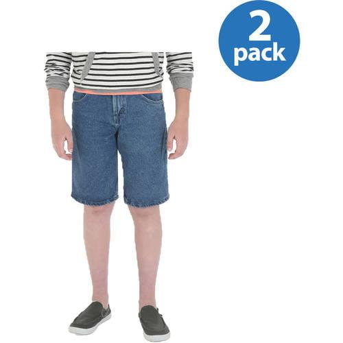 Rustler - Husky Boys; Denim Shorts 2-pack Bundle