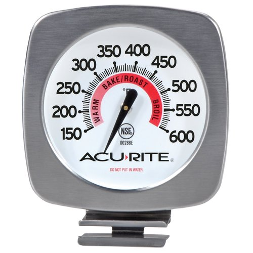 Click here to buy AcuRite Jumbo Oven Thermometer by Chaney Instrument.