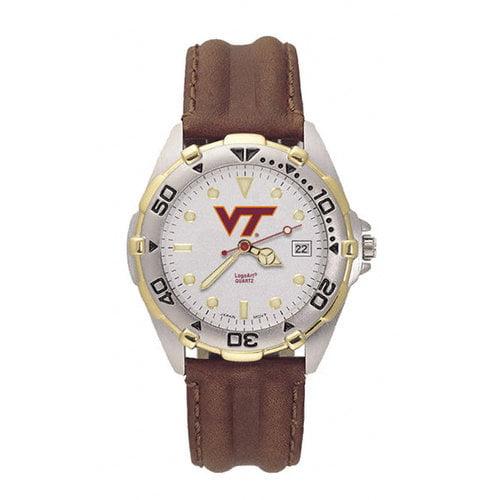 NCAA - Virginia Tech Hokies Men's All Star Leather Watch