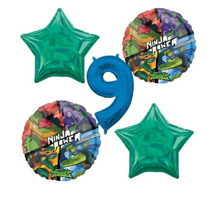 Rise of the Teenage Mutant Ninja Turtles 9th Birthday