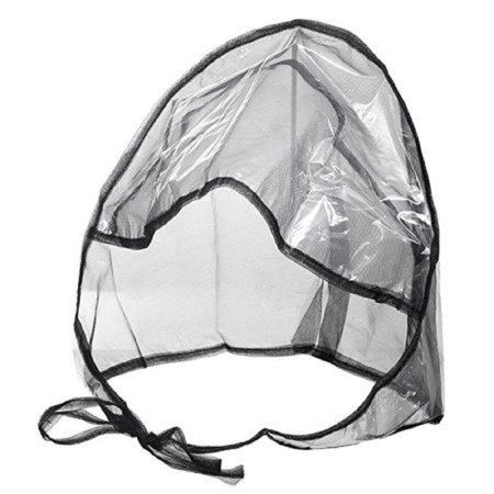 Caroler Bonnet - Rain Bonnet With Full Cut Visor & Netting (72pk)