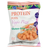 Kay's Naturals Protein Puffs , Veggie Pizza , 1.2 Oz, Pack Of 6