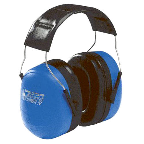 Peltor Ultimate 10 NRR 30 dB Earmuff, Blue