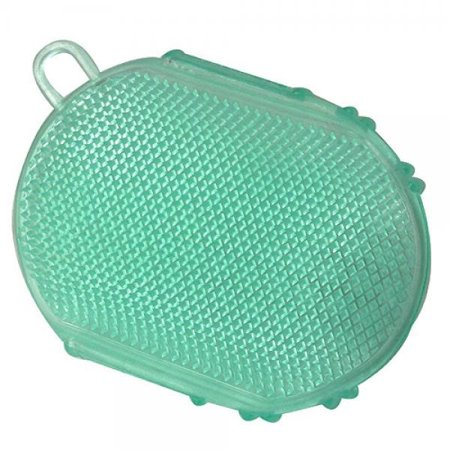 Horse And Livestock Prime-Gel Scrubbies For Horses- Green 6 Inch Double Bull Dark Horse