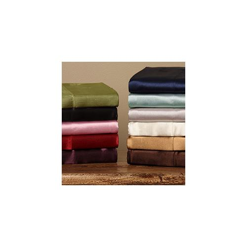 - Silky Satin Standardsize Pillowcases (Set of 2)