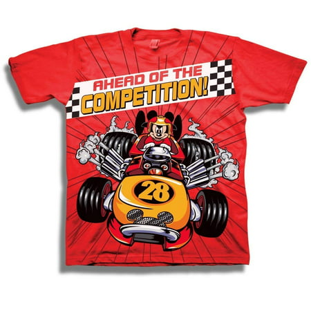 424603c5 Disney - Disney Boys Mickey Mouse Shirt - Mickey and The Roadster Racers  Toddler Tee - Mickey Mouse T-Shirt - Walmart.com