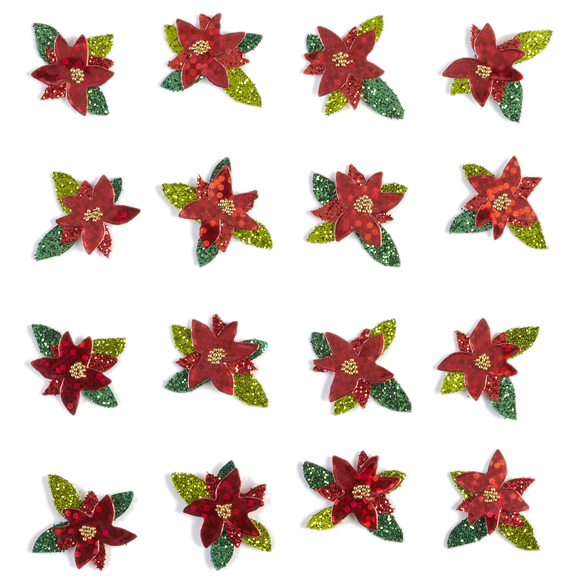NEW 3 pc LAWN DECOR Plant Sticks Flower JOLEE/'S BY YOU 3D Small Embellishments