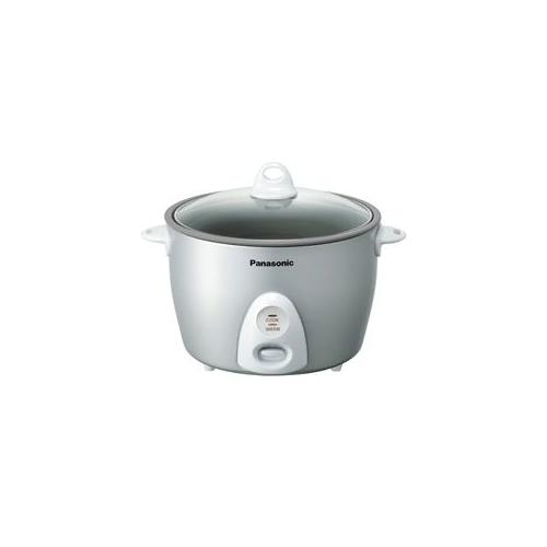 The Panasonic SR-G18FG 10-cup Rice Cooker/Steamer makes cleaning simple with the non-stick coated inner pan. The cooker