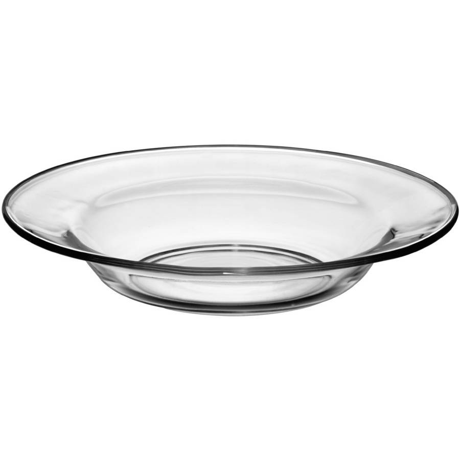 Libbey Moderno Glass Soup and Salad Bowls, Set of 12