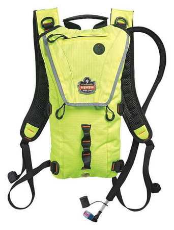ERGODYNE 5156 Hydration Pack, 70 oz. 2L, Hi-Vis Lime by Ergodyne