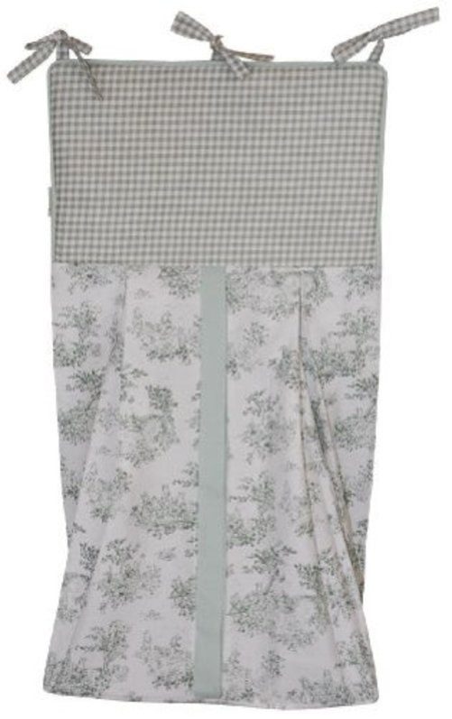 Tadpoles Toile Diaper Stacker, Sage by Tadpoles