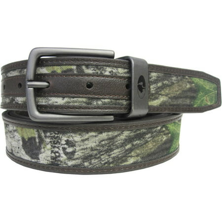 Mossy Oak Camo Reversible Belt, Brown