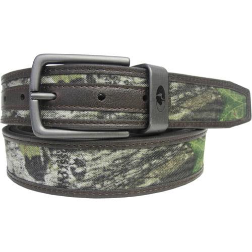 Mossy Oak Camo Reversible Belt, Brown