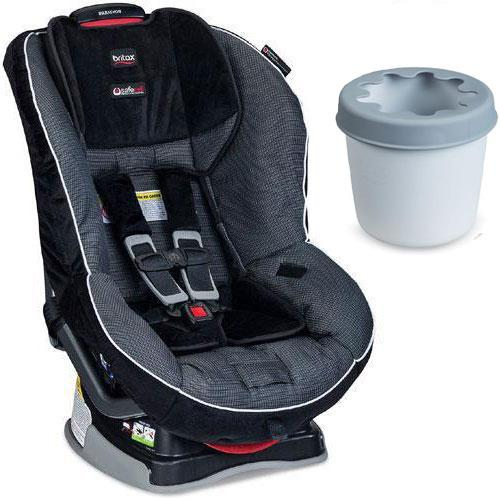 Britax - Marathon G4 1 Convertible Car Seat with Cup Holder - Onyx
