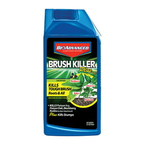 BioAdvanced Brush Killer Plus, Liquid Concentrate, 32 oz, Herbicide