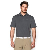 Under Armour Muscle Stripe Solid Golf Polo Shirt (Multiple Colors)