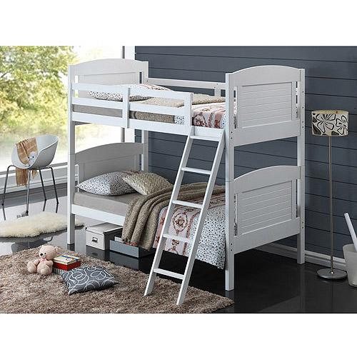 Broyhill Kids Nantucket Twin Over Twin Bunk Bed White Walmart