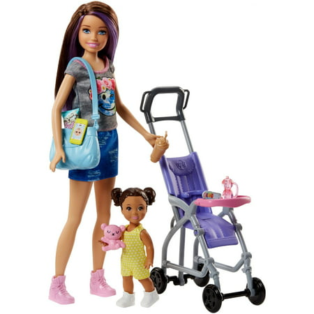 Barbie Skipper Babysitters Inc. Doll & Baby Stroller Playset](Barbie Toy)