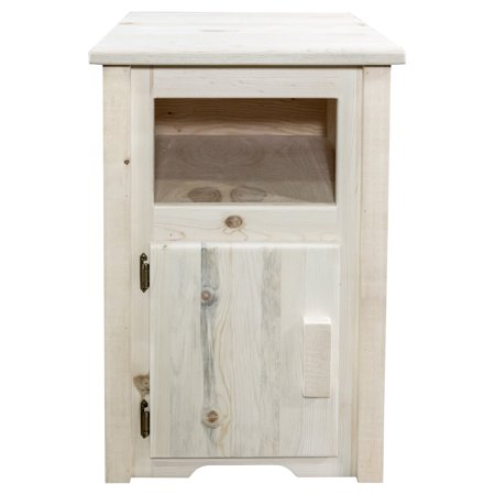 Montana Woodworks Homestead Left Hinged End Table ()