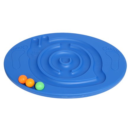 Children Maze Balance Board Home Body Building Physical Plate Tool - Blue