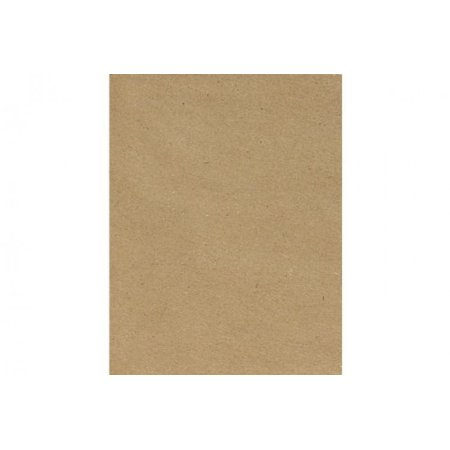 - 8 1/2 X 11 Cardstock - 100% Recycled - Grocery Bag Brown (50 PK.)