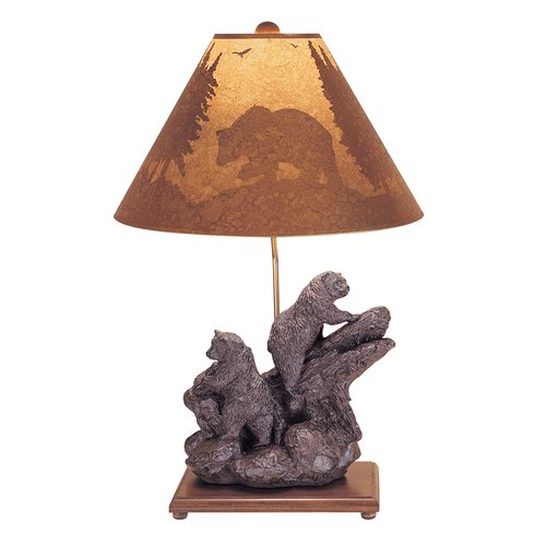 Mario Industries Climbing Bear 28'' Table Lamp