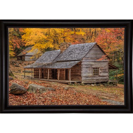 "Bud Ogle Place With Barn-GALONL125145 Print 12.25""x18.5"" by Galloimages Online in a Bistro Expresso"