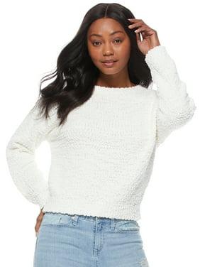 Scoop Crewneck Slouchy Sweater Women's