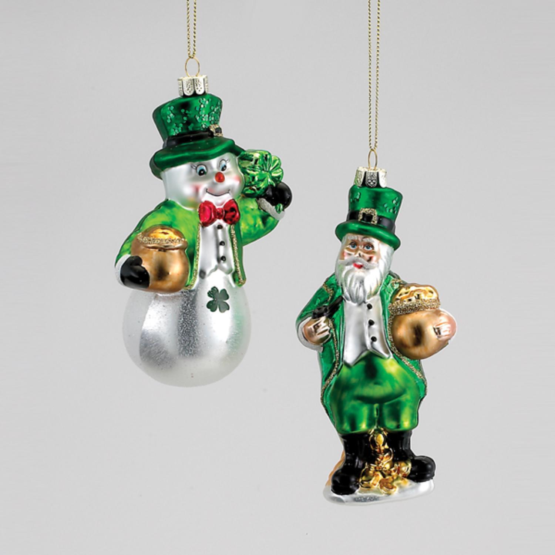 christmas santa ornaments