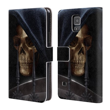 OFFICIAL TOM WOOD HORROR LEATHER BOOK WALLET CASE COVER FOR SAMSUNG PHONES 1 (Clown Demon)