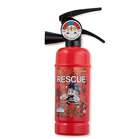 Pretend Play Fire Extinguisher with Squirter for Kids By Dress Up - Dress Up Themes Ideas