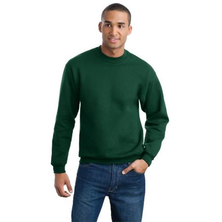 Jerzees 4662M Mens Super Sweats Crewneck Sweatshirt  Forest Green   3Xl