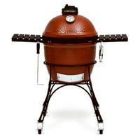 Premier Specialty Brands 217961 18 in. Kamado Joe Ceramic Grill, Red