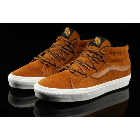 c3ea31d9 Vans SK8 Hi Mid Reissue MTE Sudan Brown Men's Classic Skate Shoes Size 11.5