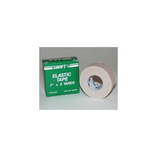 Swift First Aid 1'' X 5 Yard Elastic First Aid Adhesive Tape (1 Per Box)