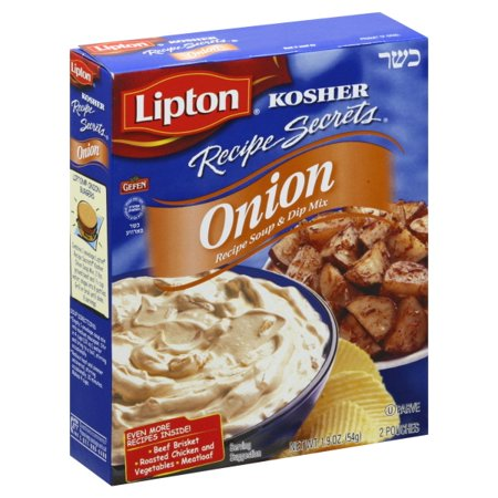 Lipton Onion Recipe Soup & Dip Mix, 1.9