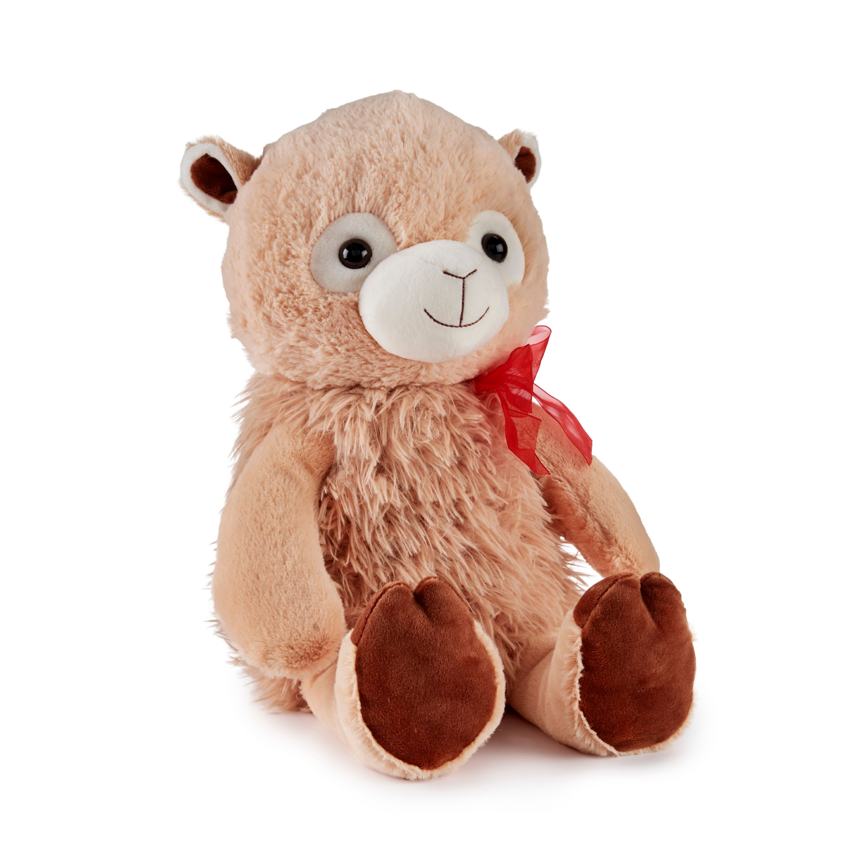 Way To Celebrate Valentine's Day Large Plush Brown Llama