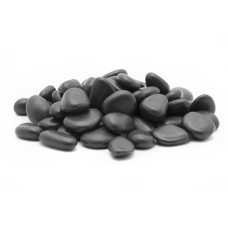 Margo Bag Black Grade A Polished Decorative Rock Pebbles  5 Lb