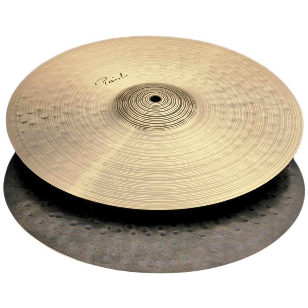 Paiste 4303714 Signature Traditionals 14-Inch Medium Light Hi-Hat Cymbal (Pair) by