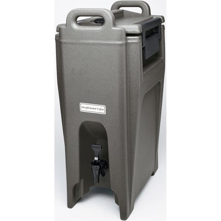 Cambro 5.25 Gal. Insulated Beverage Dispenser, Ultra Camtainer, Granite Gray, UC500-191 (Insulated Dispenser)