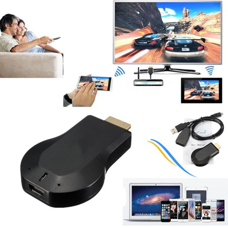 1080P M2 Full HD 3D Wireless WiFi Updated Miracast DLNA Air TV Stick Mini  Receiver Screen Mirroring Dongle Adapter Cloud for TV IOS Apple iPad  Android