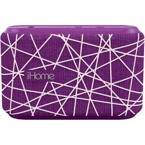 iHome iBT370  BT Speaker System Wireless Speaker Rechargeable - Purple