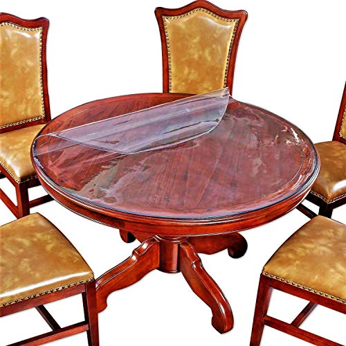 Clear Round Table Protector, Round Table Cover Plastic