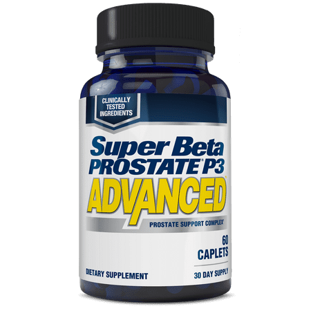 Super Beta Prostate P3 Advanced for Prostate Health, Capsules, 60 (Best Natural Prostate Pills)