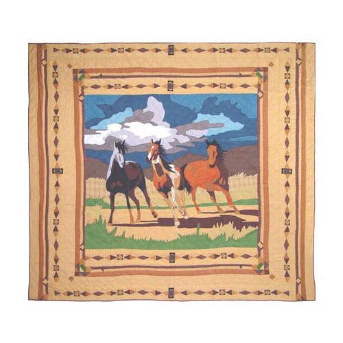 Patch Magic Wild Horses Quilt