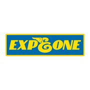 EXPEDITION ONE Skateboard Sticker RUBBER 5.25 X 1.5