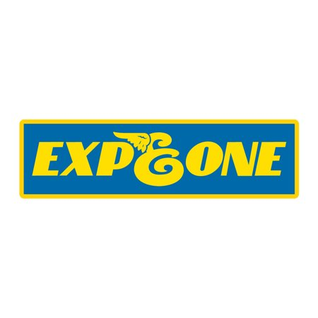 EXPEDITION ONE Skateboard Sticker RUBBER 5.25 X (Expedition One Jeep)