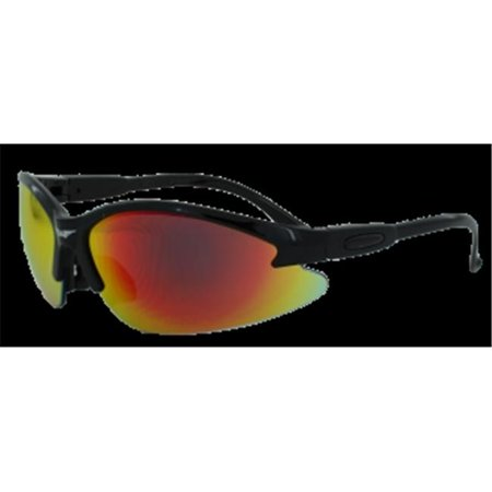 Colored Frame Safety Glasses : Safety Cougar Color Frame Safety Glasses With G-Tech Red ...